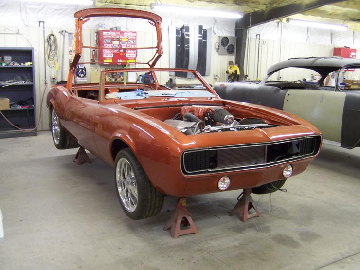68 Camaro Convertible for Sale